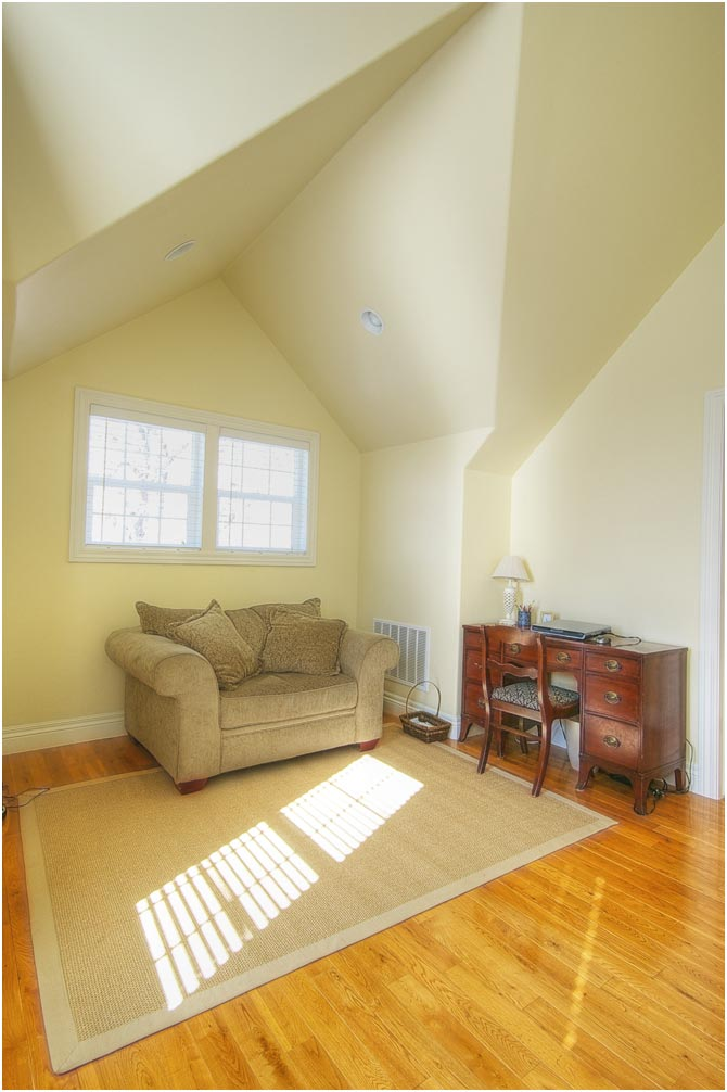 Attic Bedroom Addition After_Interior_Attic Bedroom_Second Story Addition Cape | Renovation Design Group