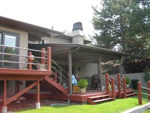 Before Split Level Home Remodel Exterior   Renovation Design Group