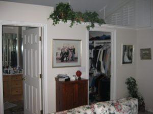 Before Walk in closet | Renovation Design Group