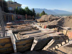Foundation, steel beams, new construction, Salt Lake City Build, Jackson & Leroy Construction | Renovation Design Group