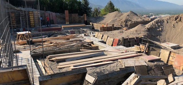 Hillside Villa: Footing & Foundation