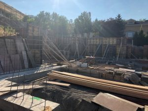Foundation, steel beams, new construction, Salt Lake City Build, Jackson & Leroy Construction | Renovation Design Group