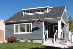 After porch cottage blue exterior small remodels | Renovation Design Group