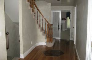 Before Staircase Remodel