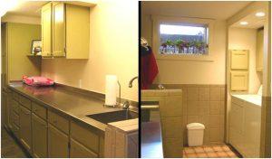 Basement Laundry Mudroom Room Remodel | Renovation Design Group