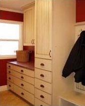 Laundry Room After Country Home Dedsign And Style Mudroom and Laundry Room | Renovation Design Group