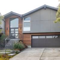Curb appeal, home exterior, Split Level, exterior remodel ideas