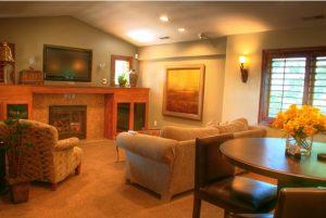 Cottage Home Living Room | Renovation Design Group
