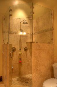 MAster bathstand up shower | Renovation Design Group