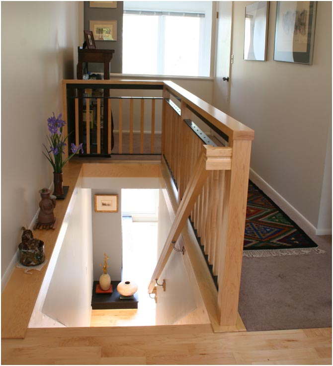 Stair Railing Design after Remodel | Renovation Design Group