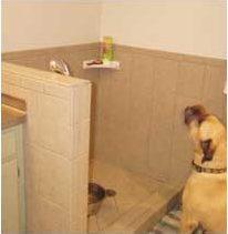 Dog Shower in laundry Room Remodel | Renovation Design group