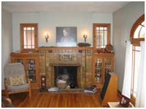 Bungalo w Fireplace Before Remodel | Renovation Design Group