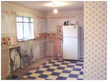 Before Modern Kitchen Addition | Renovation Design Group