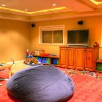 basement Redo, Childrens Playroom Remodel | Renovation Design Group