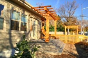 Outdoor spaces back of home exterior | Renovation Design Group