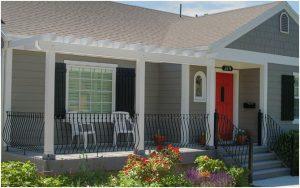 Front Porch Remodels Cottage Exterior Update, Curb Appeal | Renovation Design Group