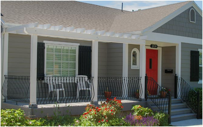 Front Porch Remodels Cottage Exterior Update, Curb Appeal | Renovation Design Group