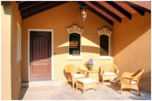 Cottage Porch Wood Beams | Renovation Design Group