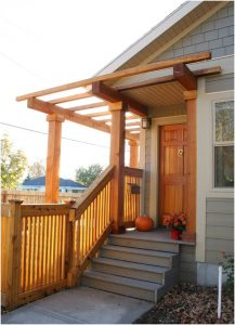 Outdoor spaces back of home exterior   Renovation Design Group