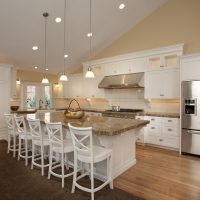 Modern traditional Kitchen renovation in Cape Code Style home | Renovation Design Group