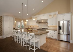 Modern traditional Kitchen renovation in Cape Code Style home   Renovation Design Group