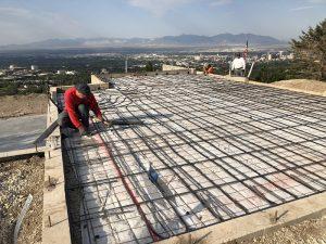 Foundation, Concrete slab, radiant heating | Renovation Design Group