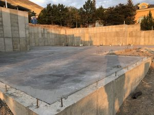 Foundation, Concrete slab, radiant heating   Renovation Design Group