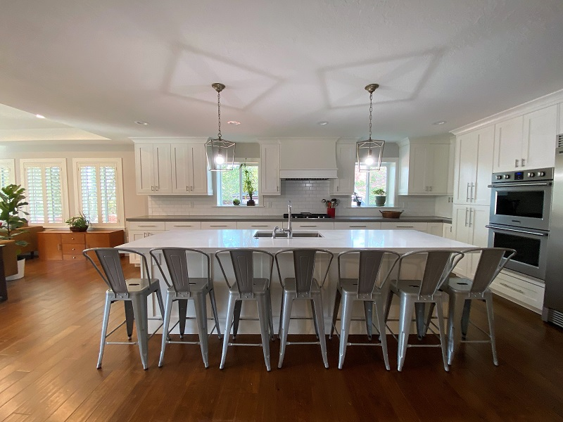 Kitchen for large family