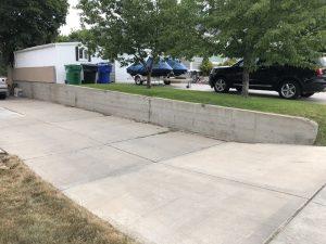 Jon & Marisa Blog Retaining Walls. Driveways Before, In construction | Renovation Design Group