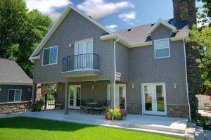 Back Yard Cape Home Exterior Remodel | Renovation Design Group