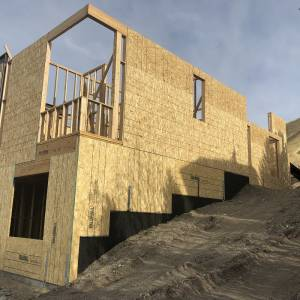 Sheathing, protective casing or covering, framing, roofing, new construction, Hillside Villa Blog