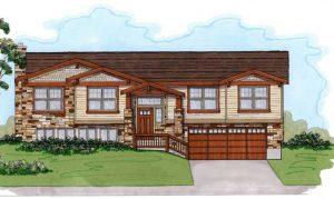 Split Entry Exterior | Renovation Design Group