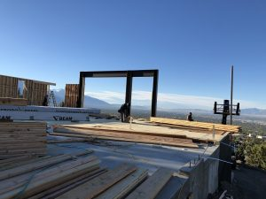 Steel framing, Home OCnstructions, Hillside Villa, Jackson & Leroy | Renovation Design Group