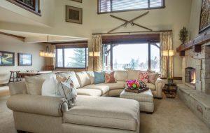 Park City Mountain Retreat Living Room | Renovation Design Group