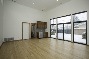 After Basement remodel all purpose room | Renovation Design Group